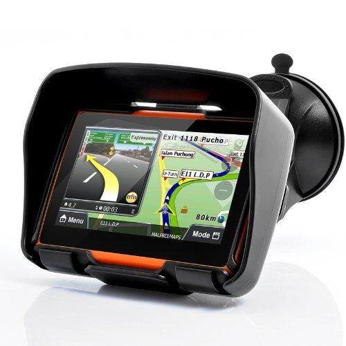 BW® Tout Terrain 10,9cm Moto Système de Navigation GPS 'Rage'–étanche, 4Go de mémoire Interne, Bluetooth 9cm Moto Système de Navigation GPS 'Rage'-étanche 4Go de mémoire Interne
