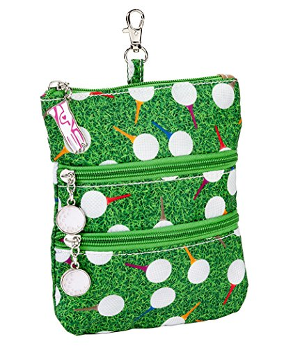 sydney-love-sport-teed-off-clip-on-zip-pouch-green-multi