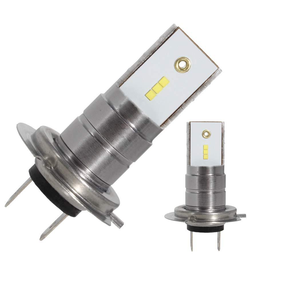 H7 LED Headlight Conversion Kit High//Low Beam 55w 12000lm 6000K car headlamp Bulbs Super brightness CSP Chips