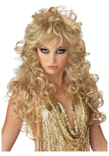 Brown/Brunette Seduction Wig Costume Accessory (Brunette Halloween Costumes)