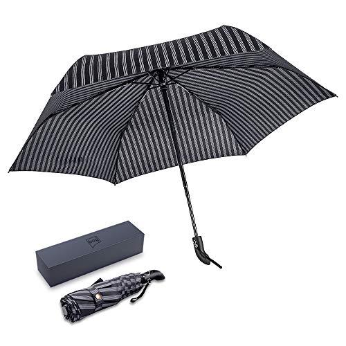 BOY Folding Windproof Umbrella, Auto Open & Clo...