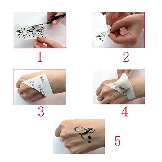 Tatuajes temporales de Sketch Eagle Yesmile ❤ impermeable águila pluma tragar tatuajes temporales 3D mariposa flor falso tatuaje: Amazon.es: Belleza