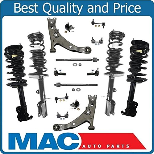 Brand New 12pc Front Suspension Kit For 1994 1999 Toyota: Compare Price To Toyota Corolla 1997 Suspension