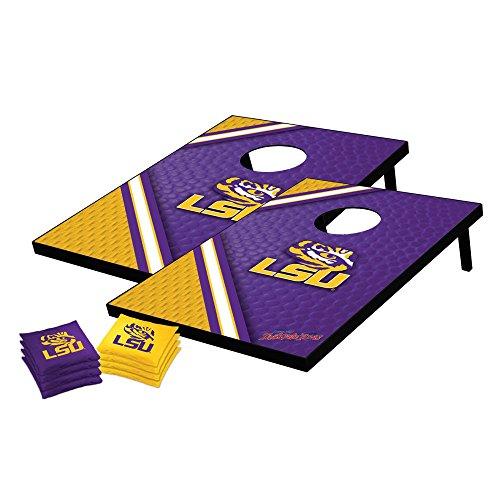 NCAA College LSU Tigers Tailgate Toss Bean Bag Game Set, Medium (Tailgate Tigers Set)