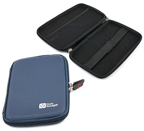 DURAGADGET Blue Shell Protective Case - Compatible with Sony Reader Touch Pocket | PRS T1 & Touch Edition PRS T2
