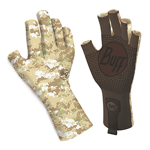 [BUFF Sport Series Water 2 Gloves, Pixels Desert, Medium/Large] (Pixel Gloves)