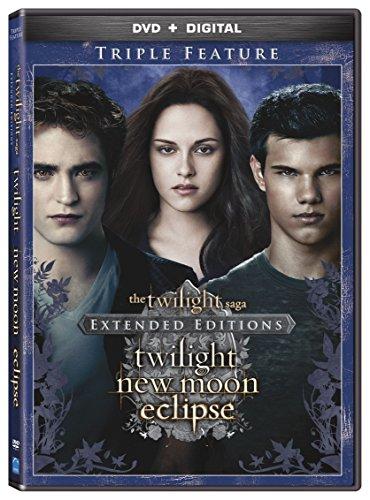The Twilight Saga: Extended Edition Triple Feature [DVD + Digital] (Twilight Dvd)