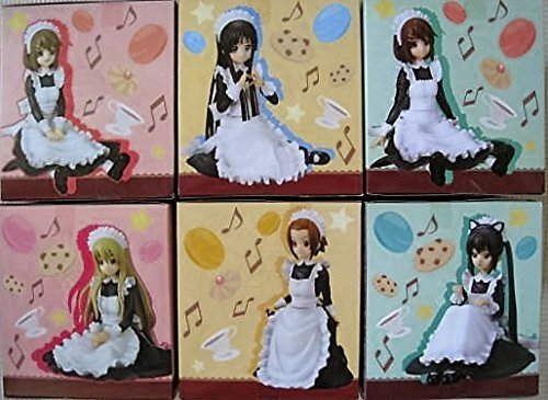 K-ON! Figure Maid ver. 1 to 3 [full set of 6]