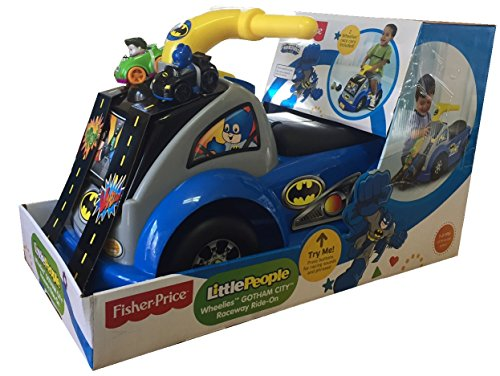 Fisher-Price Little People Wheelies Gotham City Raceway