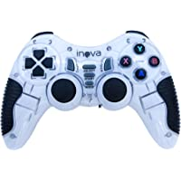 Controle Game Pad Inova 7 em 1 PS1, PS2, PS3, Android - Branco