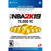 NBA 2K19: 75000 VC Pack - PS4 [Digital Code]