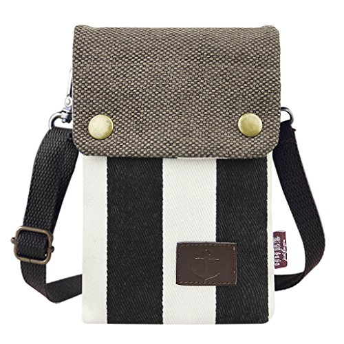 Fashion Shoulder Bag Cross Body Bags Small Cell Phone Holder Case Wallet Purse Cash Key Coin Pouches Clutch Handbag (Galaxy Canvas Shoulder Bag)