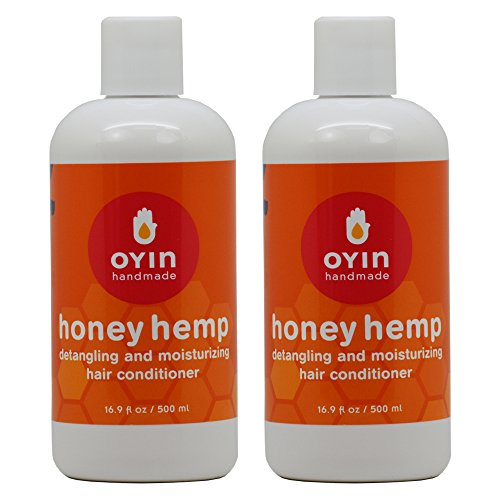 Oyin Handmade Honey Hemp Hair Conditioner 16.9oz