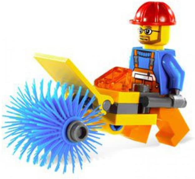 LEGO City Set #5620 Mini Figure Street Cleaner