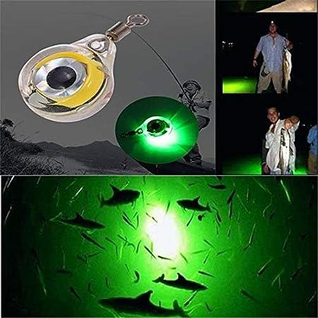 10 X CLIP ON FISHING ROD TIP LIGHTS SIZE: SMALL FISHING LIGHTSTICKS,