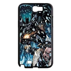 Batman Chasing Villain Samsung Galaxy N2 7100 Cell Phone Case Black Protect your phone BVS_803094