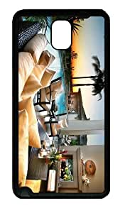 carrying cover Beautiful House TPU Black case/cover for samsung galaxy note 3 N9000