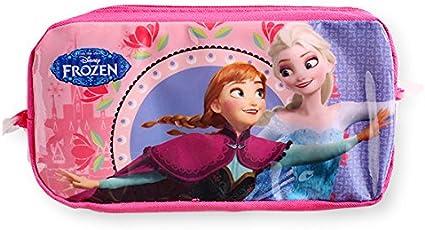 Estuche, diseño de Elsa y Anna de Frozen, La reina de las nieves: Amazon.es: Oficina y papelería