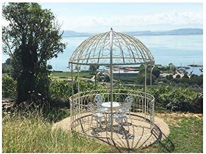 Gran carpa Kiosko de jardín pérgola refugio redondo Gloriette de ...