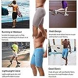 Men's Soft Running Yoga Shorts,Workout Training