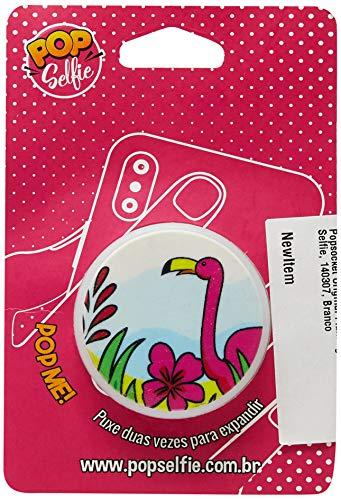 Apoio para celular - Pop Selfie - Original Flamingo Ps130, Pop Selfie, 140307, Branco