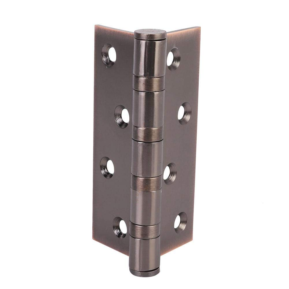 Black Red Bronze Famus Stainless Steel Bearing Door Flat Folding Spring Hinge Household Furniture Hardware Fittings