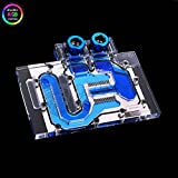 Bykski RGB RBW VGA GPU Water Cooling Block For MSI GeForce GTX1060 OC (RGB LED BLOCK)