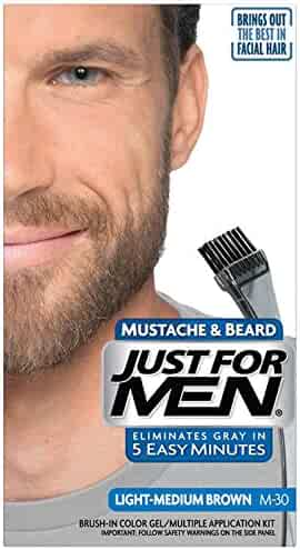 Just For Men Mustache & Beard Color, Beard Coloring for Men