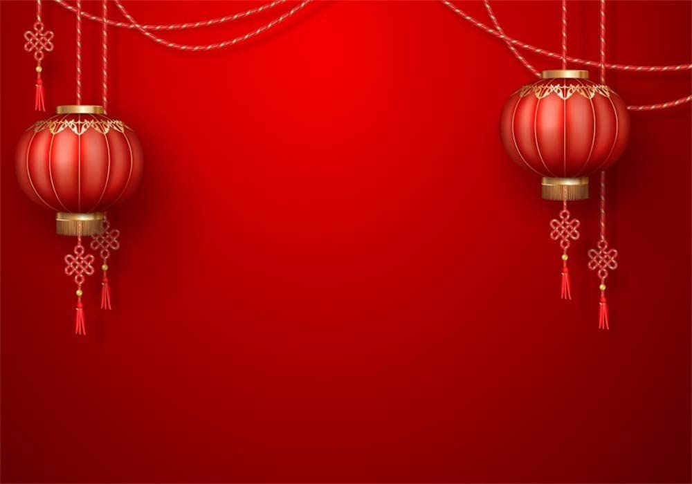 Amazon Com 6x4ft Chinese Lanterns Backdrop Spring Festival Traditional Wedding Festive Party Celebrate 2020 New Year Background For Photos Chinatown Lantern Festival Decorations Photo Studio Props Vinyl Camera Photo