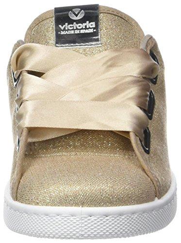 Deportivo Bañeras adulti oro Victoria Lurex miste sneakers in per platino qRxEPd