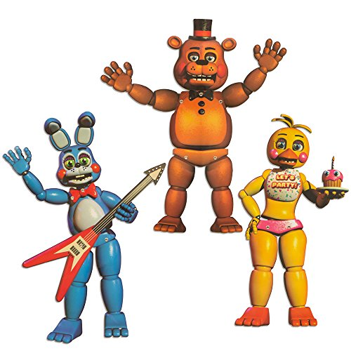Five Nights At Freddys 20  Character Cutouts  3 Pieces