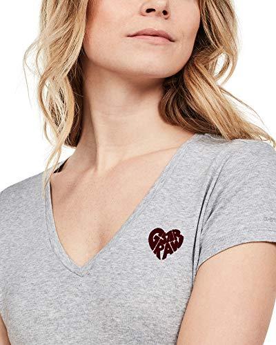 shirt star Htr Femme 906 T Raw G Gris grey wOnqCRAq1x