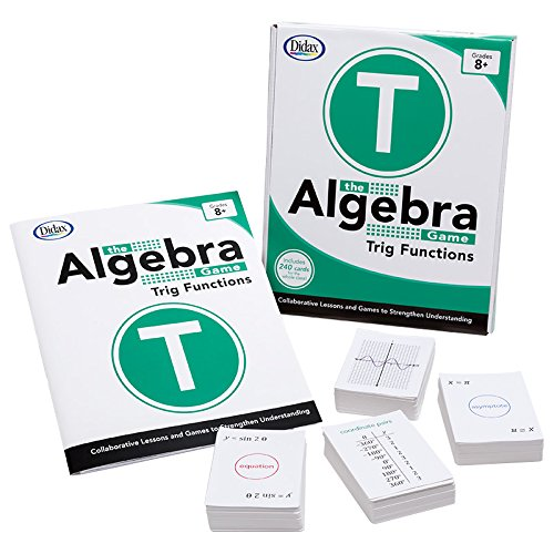 Didax Educational Resources The Algebra Game: Trig Functions Educational - Game Algebra