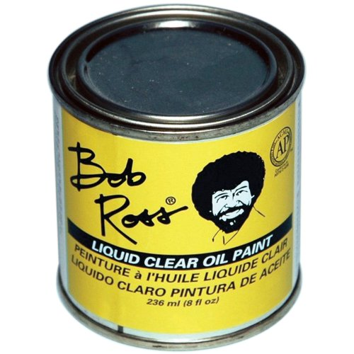 Ross Liquid Base Coat (Martin/ F. Weber Bob Ross 236-Ml Oil Paint, Clear)