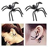 Halloween Costumes Decorations Spider Earrings Studs Scary Halloween Party Favors Decorations Gifts for Women Girls