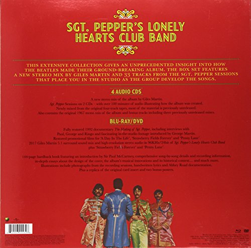 Sgt. Pepper's Lonely Hearts Club Band [4 CD/DVD/Blu-ray Combo][Super Deluxe Ed by Capitol (Image #1)