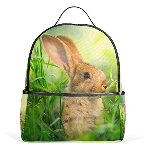 YZGO Fashion Backpack Little Easter Bunnies Lovely Rabbit...