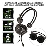 Connectland Multimedia Stereo Adjustable Headset