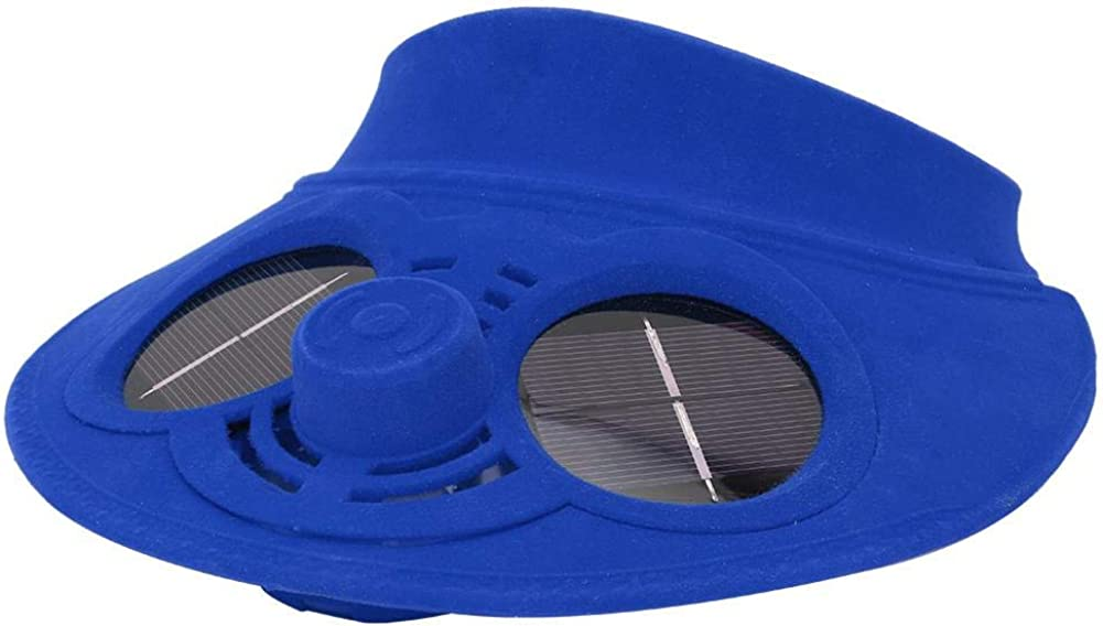 VGEBY1 Cooling Fan Hat, Cooling Fan Cap Outdoor Solar Powered Hat for Kids Summer Sport