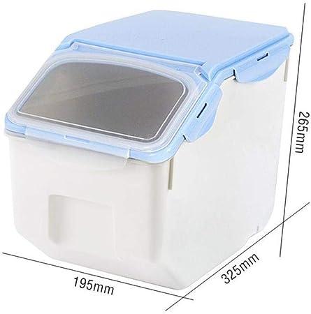 DGJEL Caja de Comida para Perros, Tanque de Almacenamiento Sellado para Comida para Gatos, Tanque de Comida para Perros, Tanque de Almacenamiento a Prueba de Humedad para Mascotas: Amazon.es: Hogar