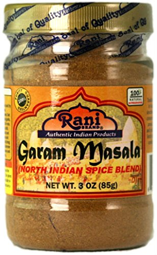 Rani Garam Masala Indian 11 Spice Blend 3oz (85g) Salt Free ~ All Natural | Vegan | Gluten Free Ingredients | NON-GMO (Best Chana Masala Powder)