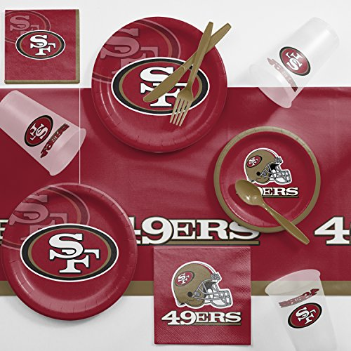 Creative Converting San Francisco 49ers Game Day Party Supplies -