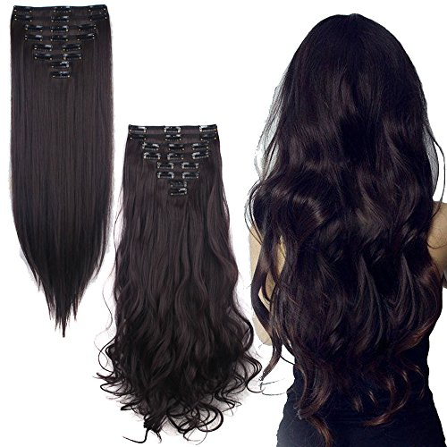 Delivery Inches Synthetic Extensions Hairpieces
