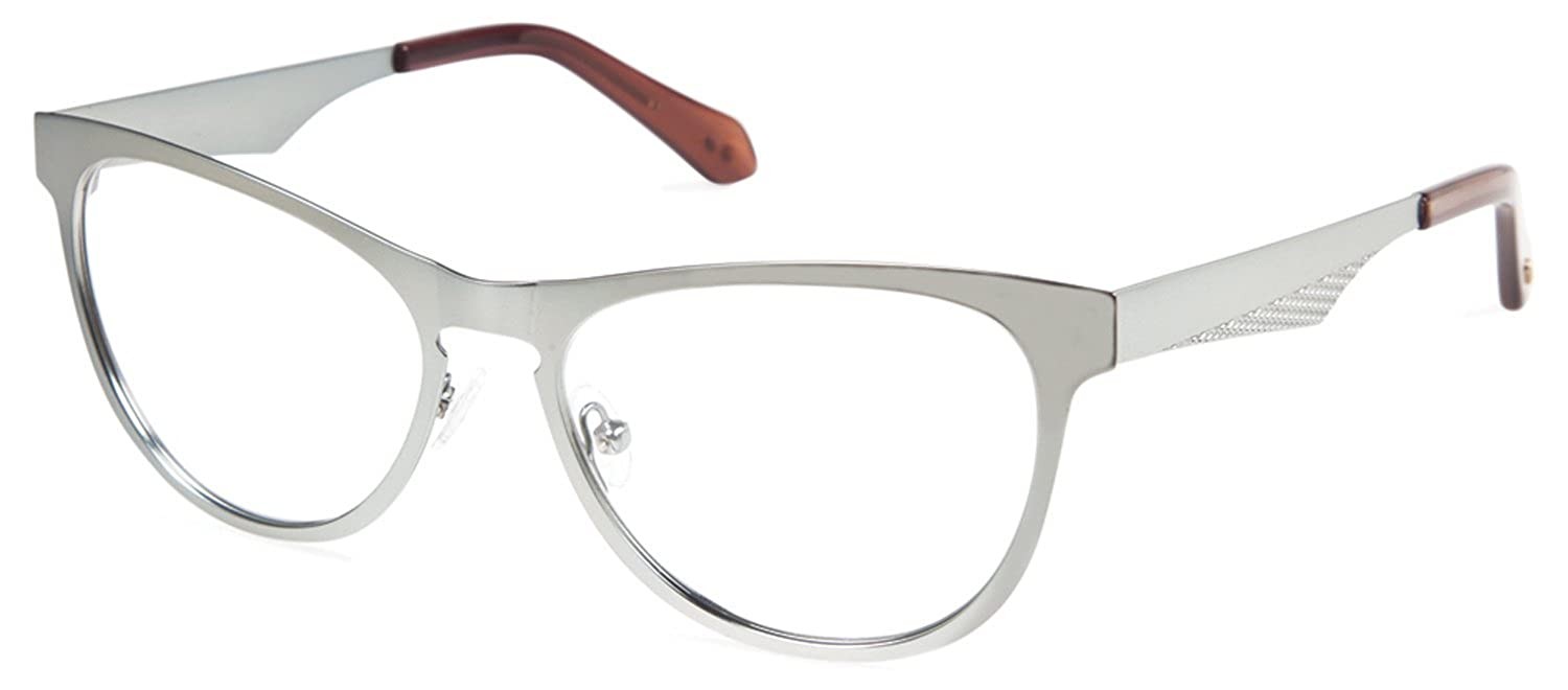 Cynthia Rowley/ No 94 Aqua Cat-Eye Metal Eyeglasses