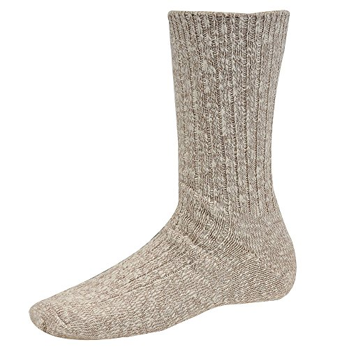 Wigwam Cypress Crew Socks White/Grey Medium