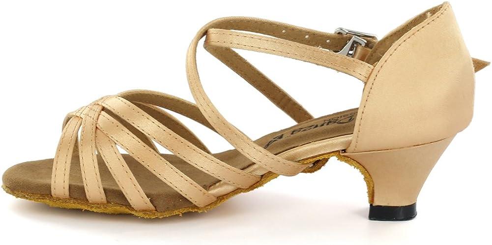 AlmaDanza Girls Latin Dance Shoes A261502B