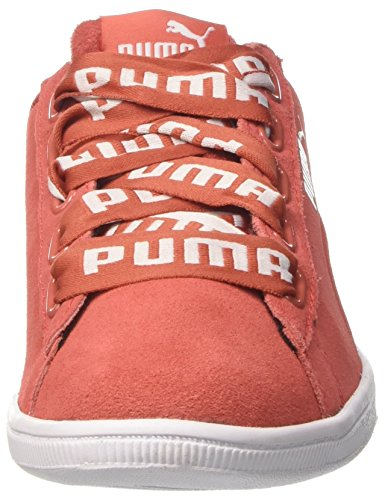 Coral Coral spiced Puma Sneaker Bold Vikky spiced Donna Ribbon Rosso CwHU1qT