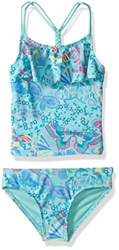 The Children's Place Little Girls' Tankini Swim Suit, Mel...