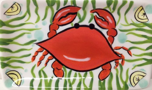 Cape Shore Red Crab Trinket Plate