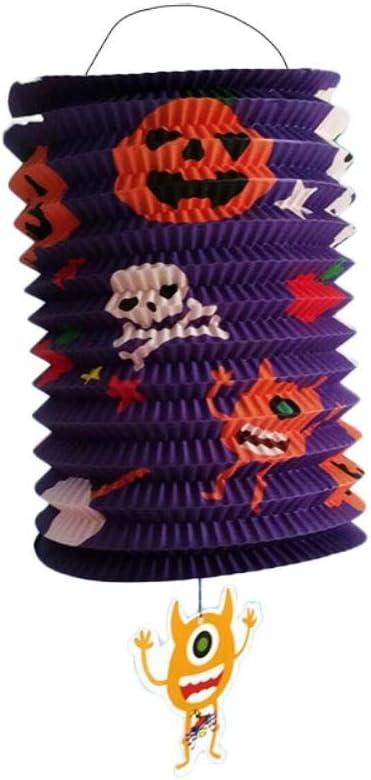 Weimay D/écoration de lLanterne en Papier Halloween,Pliant Lanterne,pour D/écoration de F/ête,Famille Halloween